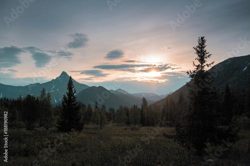 Keuken foto achterwand Natuur The Urals landscape. The Ural Mountains. Russia landscape.