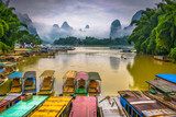 Karst Mountains in Guilin,China - 188215713