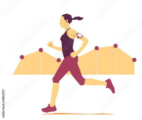 Fridge magnet Jogging e misurazione dell'attività fisica