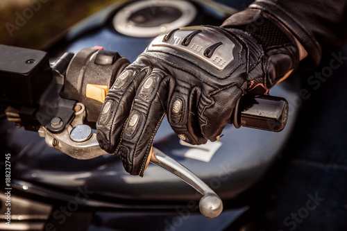 Motorcycle Racing Gloves - 188232745