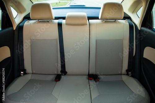 Tylne siedzenia pasażera