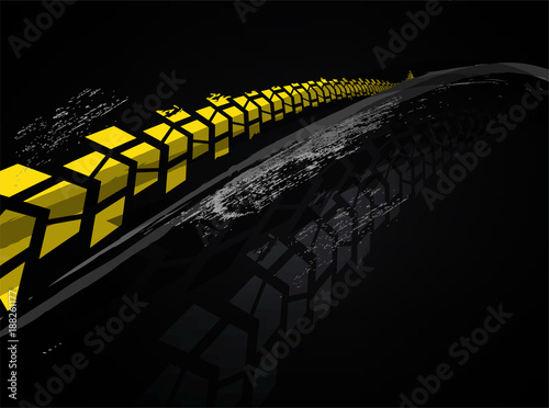 Vector tire background