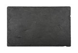 Black slate board isolated on white - 188266769