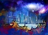 New York cityscape - 188271781