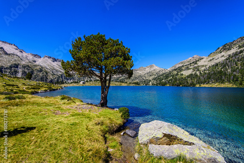 Foto Murales lac du néouvielle