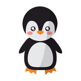 cute animal standing cartoon wildlife vector illustration