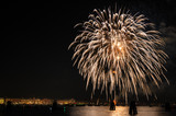 New Year's Eve Fireworks Display over the Lagoon of Venice - 188282198