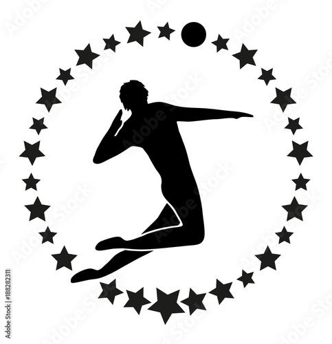 Fototapeta Volleyball Logo | Emblem