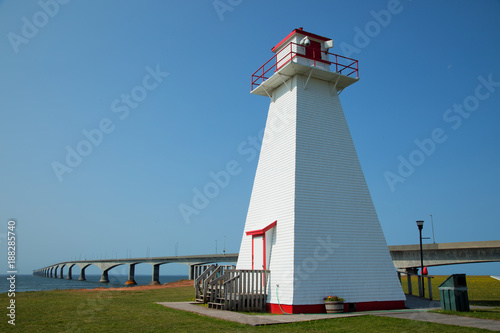 Zdjęcie XXL Port Borden Range Front Lighthouse na wyspie Prince Edward