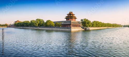 Fotobehang Peking The Palace Museum (Forbidden City). Located in Beijing, China.