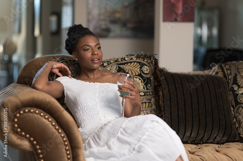 Young African American Woman Lifestyle