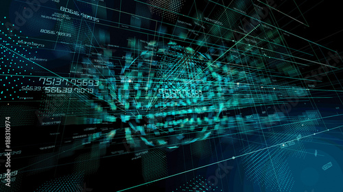 Technological abstract background.