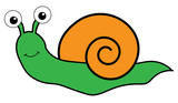 Cute Insect Snail