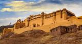 Amer Fort Jaipur Rajasthan - A UNESCO World Heritage site and popular tourist destination - 188321512
