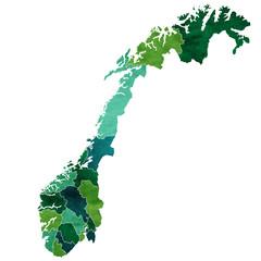 ノルウェー 地図 国 アイコン