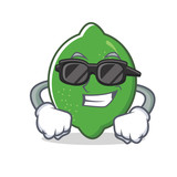 Super cool lime character cartoon style - 188328976