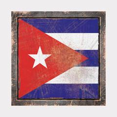 Old Cuba flag