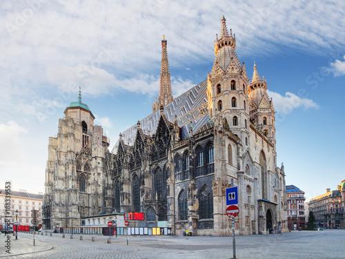Poster Wenen Vienna - St. Stephen's Cathedral, Austria