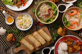 assorted asian dish - 188343900