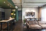 Beautiful contemporary living room home interior. - 188348598