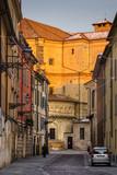 Old street in Parma, Emilia-Romagna, Italy