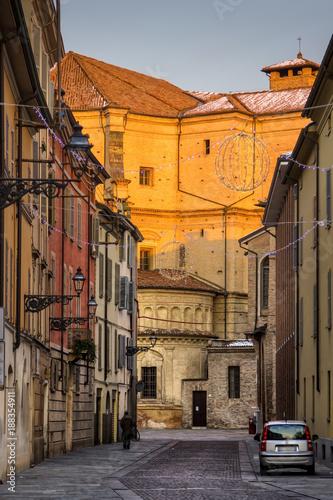 Old street in Parma, Emilia-Romagna, Italy - 188354911