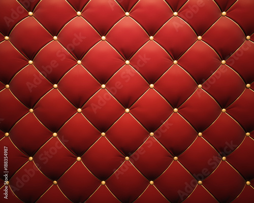Luxorious leather sofa upholstery - 188354987