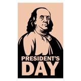 president day franklin vector illustration flat style - 188376978