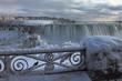 Frozen Niagara Falls Canada