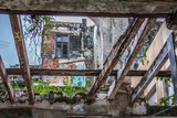 The ruins of the beautiful city of Havana in Cuba