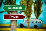 Schild 308 - Gesetzlich - 188406974