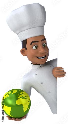 Poster Fun chef