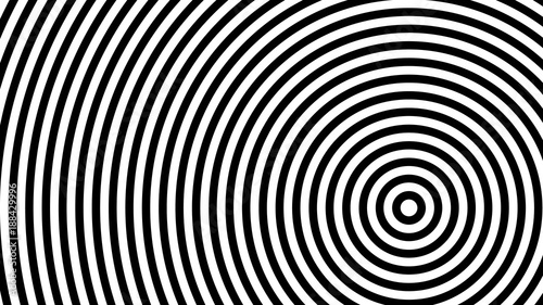 Fototapeta flat, fashionable, stylish, geometric black and white abstract background 1920 x 1080 px. for interior, design, advertising, screen saver, wallpaper, covers, walls, printing. vector pattern
