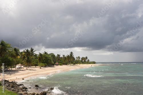 Foto Murales Anse bertrand, plage de la Chapelle