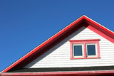 Red roof top in Magdalein island - 188449598