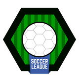 Isolated soccer emblem - 188454926