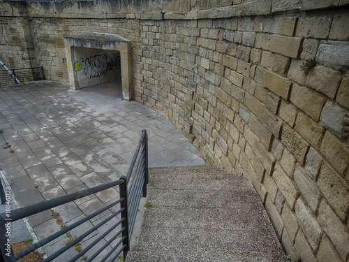 Medieval Architecture Deatil in Logrono Spain