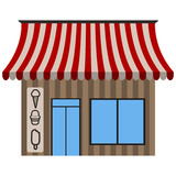Front view of an ice cream shop - 188461394