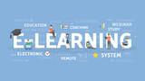 E-learning concept illustration. - 188488711
