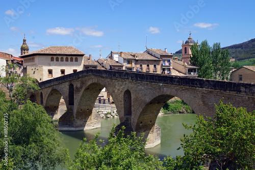 Die Brücke von Puente la Reina - 188502735