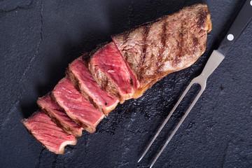 Grilled New York steak