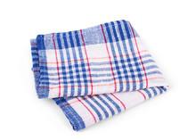 Folded Beach Towel Striped Cloth Set    Sticker