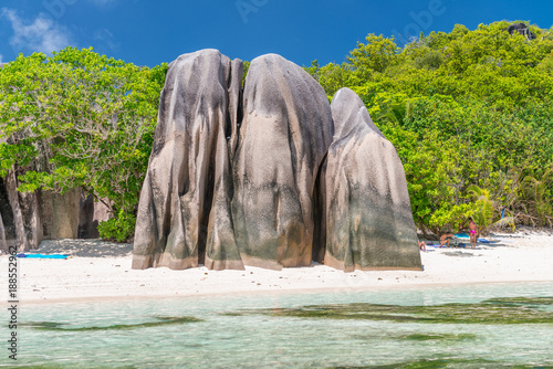 Foto Murales Rocks of Seychelles