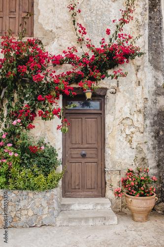 old door wood stone texture © LElik83