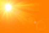 Sfondo astratto soleggiato di estate di natura con il sole splendente - 188557732