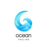 ocean icon - 188559705