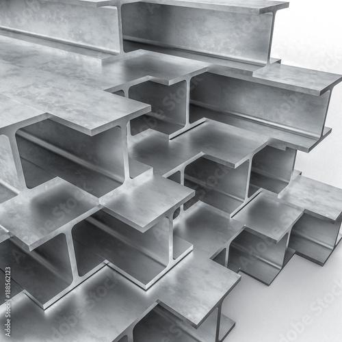 metal beam 3d
