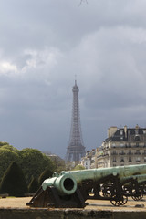 eiffel and canons