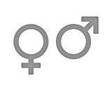 symbol mężczyzny i kobiety ikona - 188592358