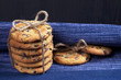 Stack of chocolate chip cookies - 188593584